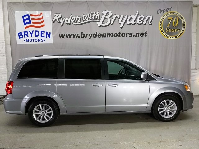 Certified Pre Owned 2019 Dodge Grand Caravan Sxt 4d Passenger Van In Beloit Ut42333 Bryden Motors